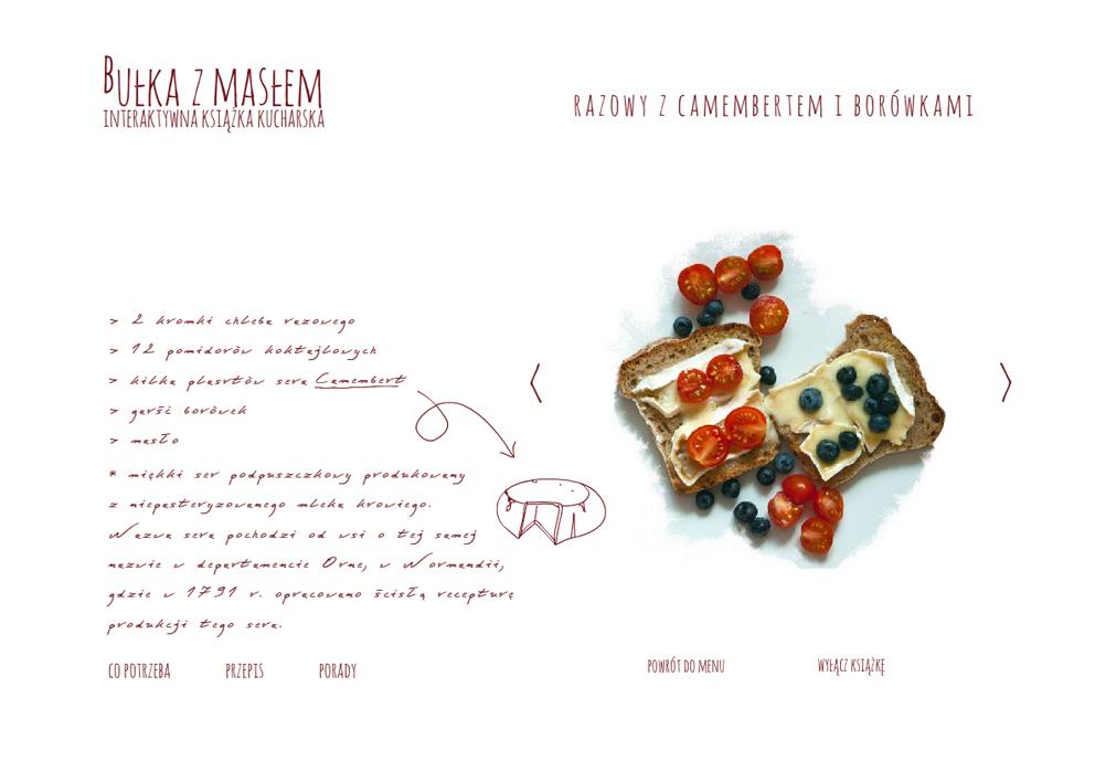 plakaty projektowanie graficzne graphic design ulotki wizytowki cookbook food ksiązki kucharskie kulinaria 10