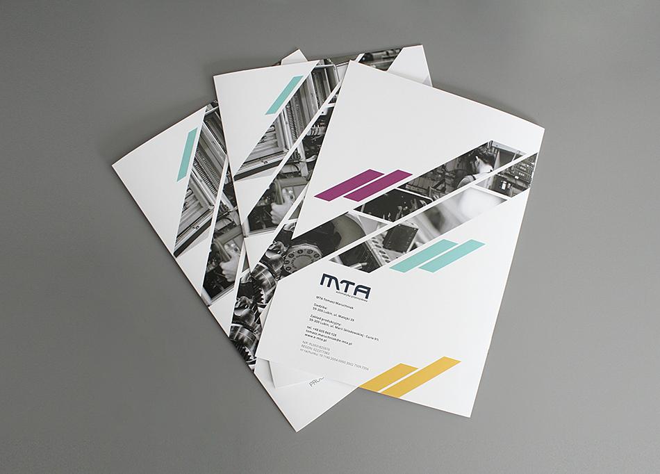 folder reklamowy, katalogi reklamowe